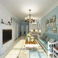 富裕型90平米欧式风格客厅图片大全
