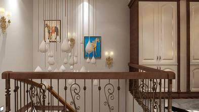 140平米三室两厅美式风格楼梯间图
