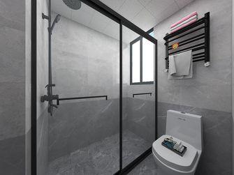 70平米现代简约风格卫生间图片大全