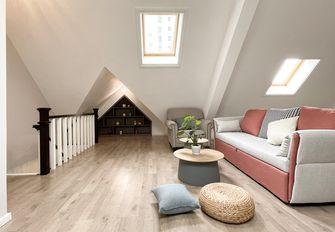 富裕型90平米复式美式风格阁楼装修案例