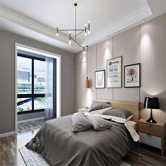 10-15万110平米三室两厅北欧风格卧室图