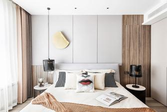 豪华型120平米三室两厅轻奢风格卧室图片大全