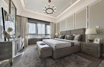 富裕型140平米四室一厅轻奢风格卧室图片大全