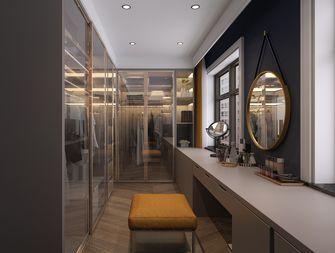 130平米三室两厅轻奢风格衣帽间图片大全
