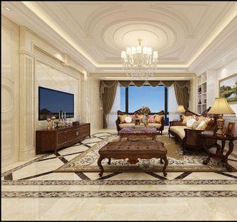 20万以上140平米三室一厅欧式风格客厅效果图