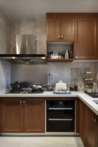 10-15万120平米三室一厅法式风格厨房装修图片大全