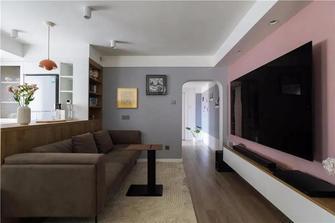 经济型70平米现代简约风格客厅装修案例