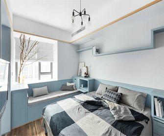 经济型70平米公寓北欧风格卧室设计图