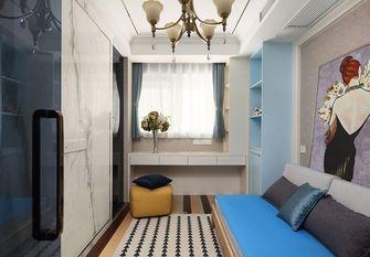 富裕型80平米美式风格青少年房装修案例
