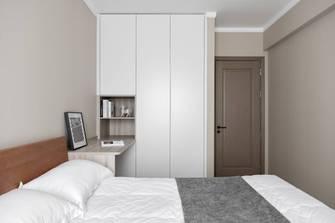 富裕型130平米三室两厅北欧风格青少年房设计图