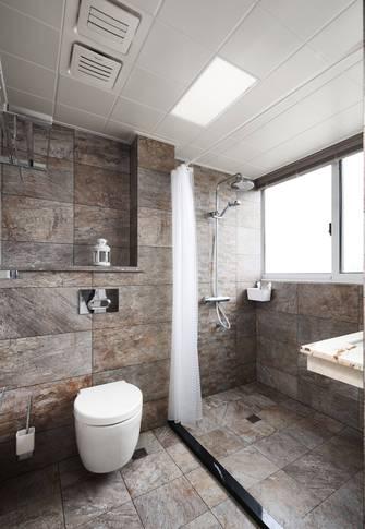 10-15万110平米三室两厅北欧风格卫生间欣赏图
