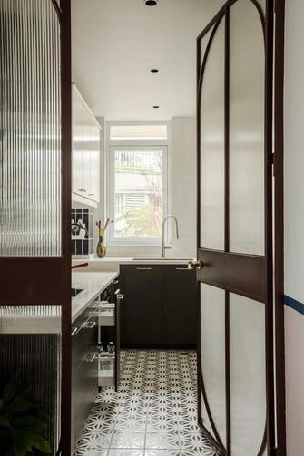 140平米三室两厅新古典风格厨房图片大全
