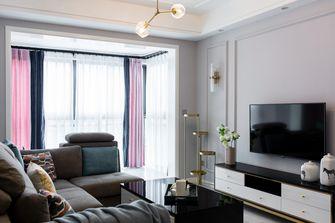 20万以上90平米四室两厅北欧风格客厅图