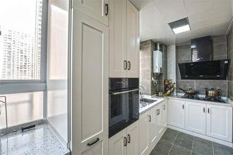富裕型140平米三室两厅美式风格厨房欣赏图
