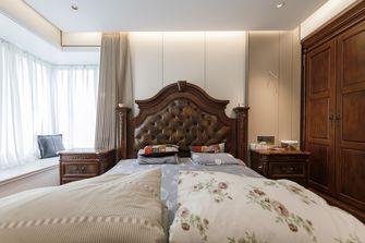 20万以上120平米三室两厅轻奢风格卧室图