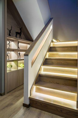 豪华型140平米别墅现代简约风格楼梯间装修效果图