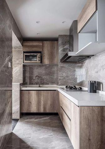 富裕型110平米三室一厅北欧风格厨房装修效果图
