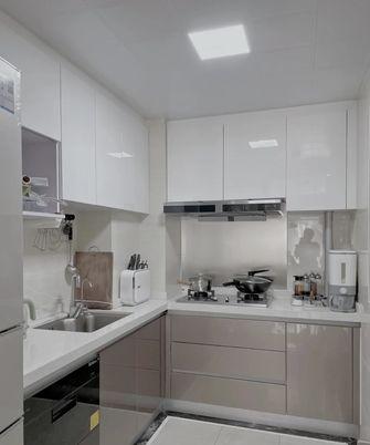 90平米三室两厅现代简约风格厨房效果图