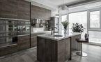 富裕型130平米四现代简约风格厨房装修效果图