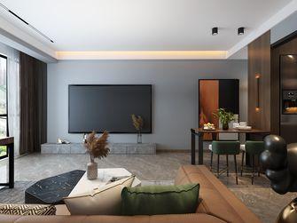 富裕型80平米港式风格客厅设计图