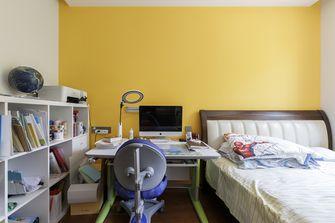 20万以上120平米三室两厅轻奢风格青少年房设计图