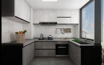 100平米三室三厅现代简约风格厨房图