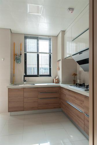 5-10万80平米现代简约风格厨房装修图片大全
