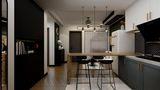 富裕型60平米混搭风格厨房图片