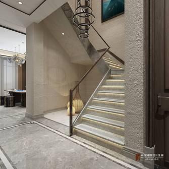 豪华型140平米复式中式风格楼梯间图