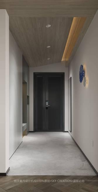 20万以上140平米四室两厅现代简约风格走廊欣赏图