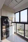 富裕型80平米三室两厅北欧风格阳台效果图