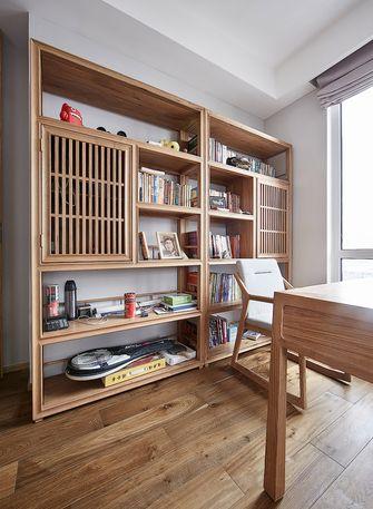 10-15万110平米三室两厅日式风格书房装修效果图