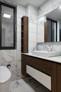 10-15万110平米三室一厅美式风格卫生间图