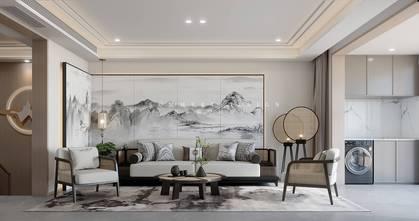 20万以上140平米四室五厅混搭风格客厅装修效果图