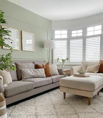 经济型三室两厅田园风格客厅欣赏图