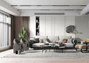 经济型60平米公寓轻奢风格客厅装修效果图