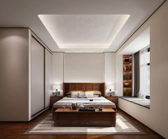 富裕型140平米四中式风格卧室装修案例