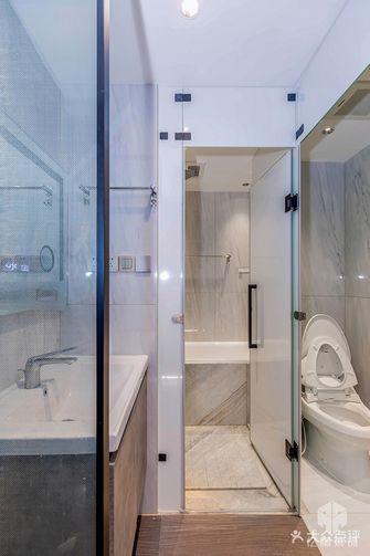 富裕型70平米现代简约风格卫生间装修案例