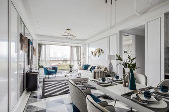 经济型110平米三室一厅欧式风格客厅装修效果图