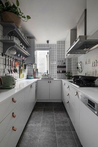 经济型110平米三室两厅北欧风格厨房装修效果图
