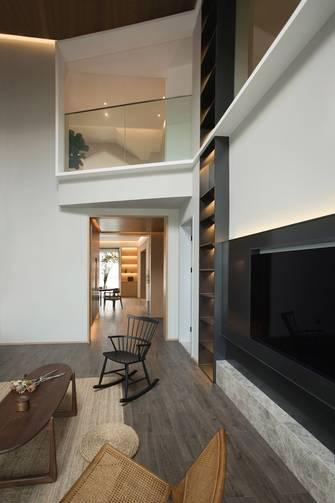 豪华型140平米三室两厅中式风格阁楼装修案例