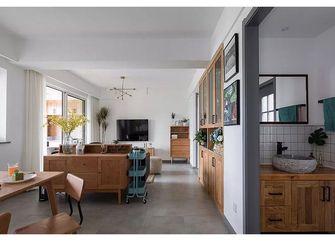 富裕型130平米三北欧风格客厅图片大全