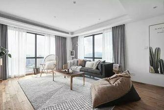 经济型80平米三室两厅北欧风格客厅图片