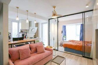 经济型30平米小户型北欧风格卧室设计图