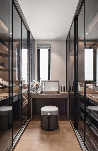 富裕型140平米三室两厅现代简约风格衣帽间设计图