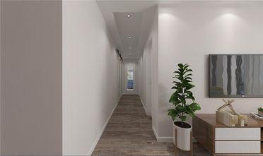 富裕型80平米三室两厅北欧风格走廊装修效果图