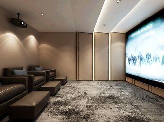 140平米别墅轻奢风格影音室图
