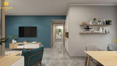 富裕型100平米三室两厅北欧风格餐厅图片大全
