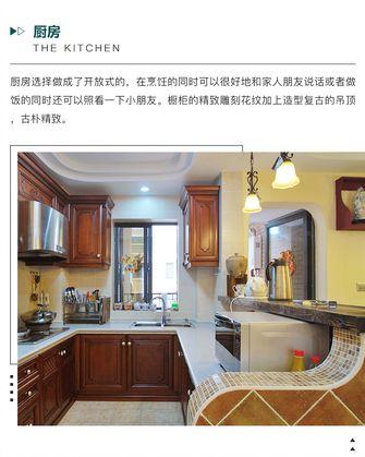 3-5万100平米三室两厅美式风格厨房效果图