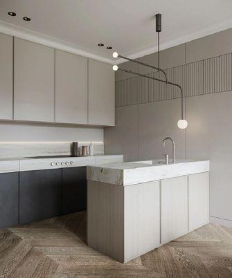 10-15万100平米三室两厅现代简约风格厨房图片大全